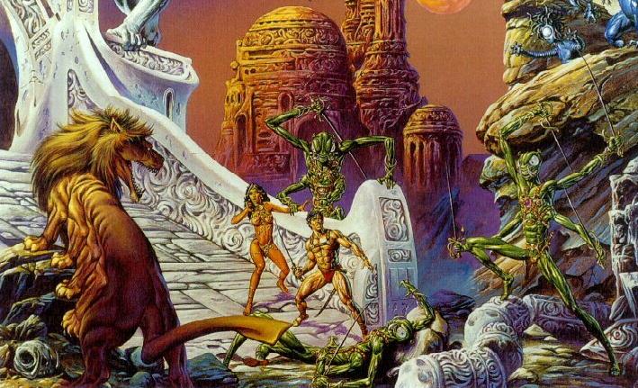 James Cameron's Inspiration for Avatar – Edgar Rice Burroughs