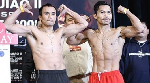 Pacquiao-Marquez III? Manny Must Swat Mexican Mosquito Marquez in May