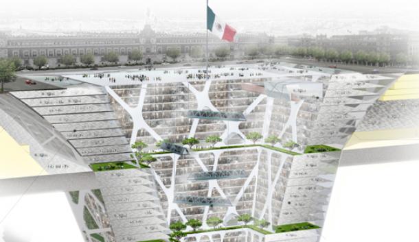 """""""Earthscraper"""" (inverted skyscraper) in Mexico City tickles the imagination"""