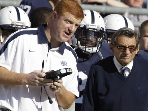With Paterno sacked, the question becomes: How did McQueary keep his job as a Penn State coach?