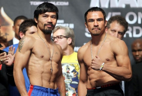 Roundup of today's articles on Pacquiao, Marquez, and Mayweather