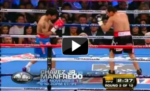 Slow-mo replay of the entire Pacquiao Marquez fight is an interesting, revealing exercise