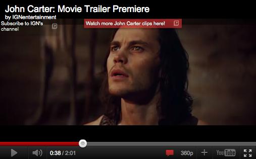 The New John Carter Trailer