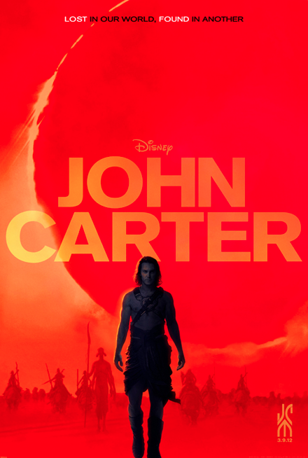 """John Carter"", a movie I've waited a lifetime to see……."