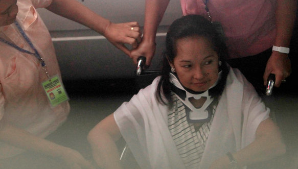 NY TIMES: Ex Philippine President Arroyo Moved to Military Hospital