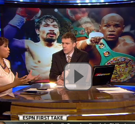 "Mayweather calls Pacquiao; wants fight but says ""No"" to 50/50 split?"