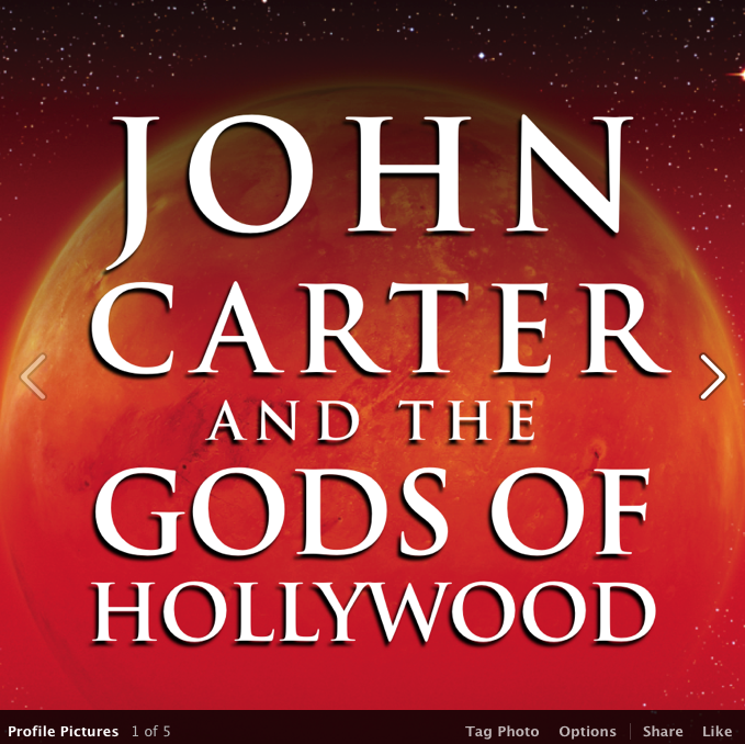 My book, John Carter and the Gods of Hollywood, is out today!