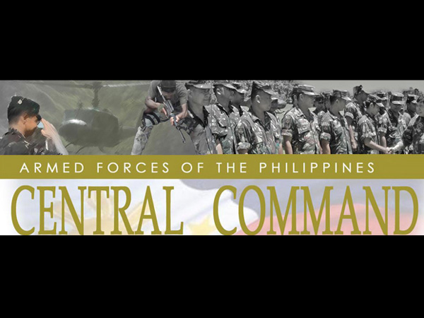 Thank You Letter from AFP Central Command to Foreign Military/Donors