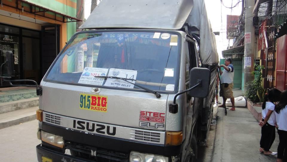 Guinob-an, Samar Emergency Rice Shipment to Samar Leaves Manila