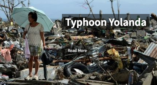 Resources for Typhoon Yolanda Information