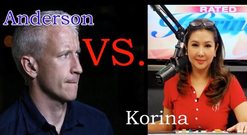 Korina Sanchez Attacks Anderson Cooper and Filipinos React