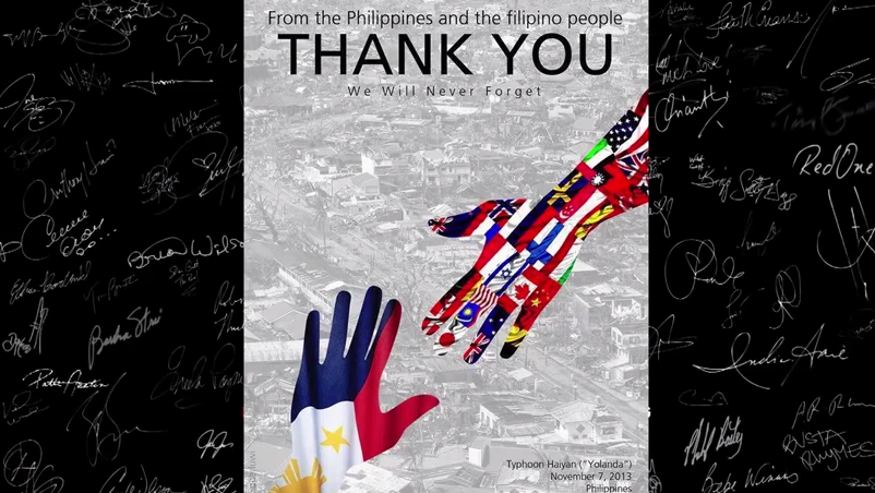 Video: We Are the World Philippines — Typhoon Haiyan (Yolanda)