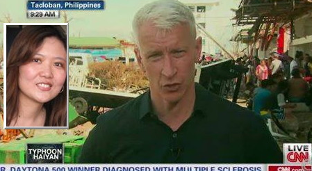 Geraldine Uy Wong: Help Me Get This to Anderson Cooper