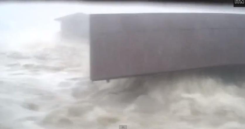 VIDEO: Heartbreaking footage of Typhoon Haiyan's tsunami-like storm surge washing away a village