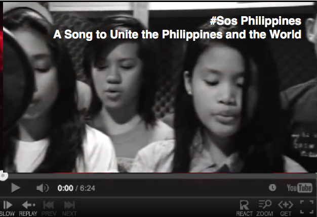 """VIDEO: """"#SOS Philippines"""" by Armand TJ — A Hero of the Storm for sure"""