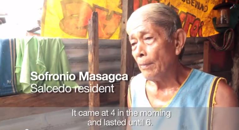Video: Surviving Typhoon Haiyan in Eastern Samar