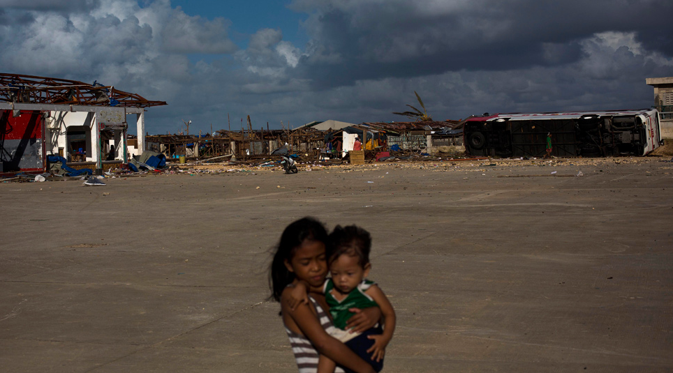 The Destroyed Port of Guiuan