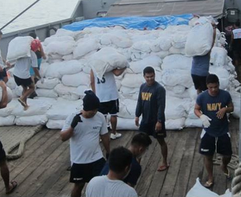 Philippine Navy Brings Aid to Remote, Historic Homonhon Island