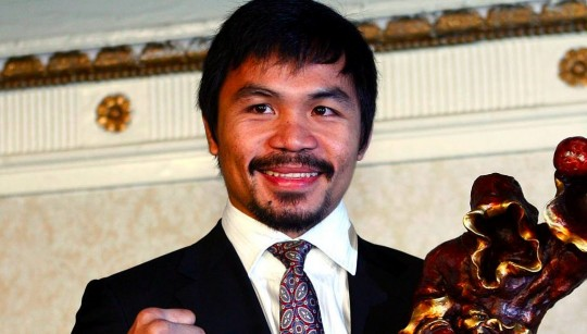 Manny Pacquiao tops Tiger Woods, Lebron James as Yahoo's Most-Searched Sports Figure of 2010