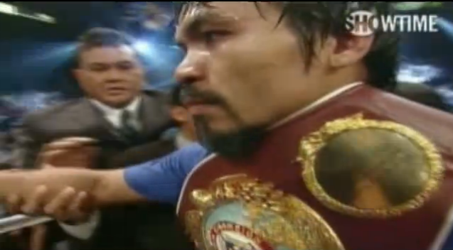 Pacquiao-Mosley:  Comment After a Second Viewing
