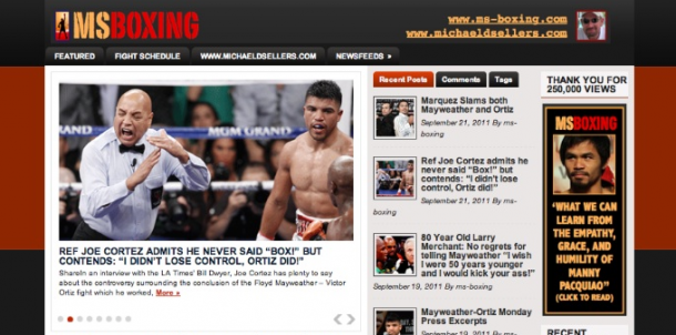 Boxing Stories Now Have Their Own Home at MS-Boxing.com