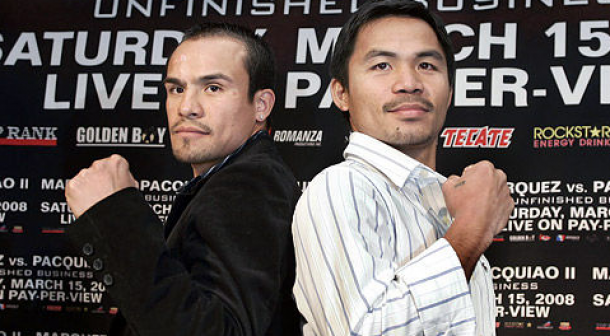 Pacquiao talking smack about Marquez?  Pretty much….