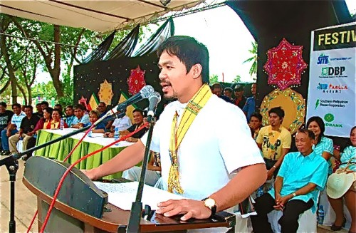 """Pacquiao:  Deal for Mayweather fight """"almost done"""""""