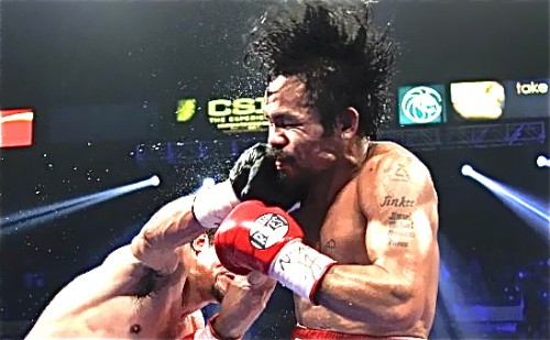 """Did Pacquiao's """"Bad Hair Day"""" fuel the controversy?"""