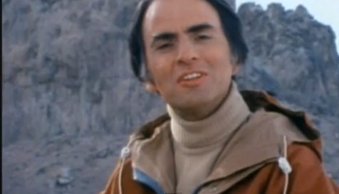 The Great Carl Sagan loved Edgar Rice Burroughs the way I did — watch!