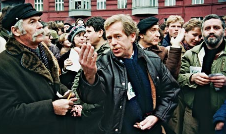 Vaclav Havel, the Czech playwright who inspired the world much as Cory Aquino did, is gone
