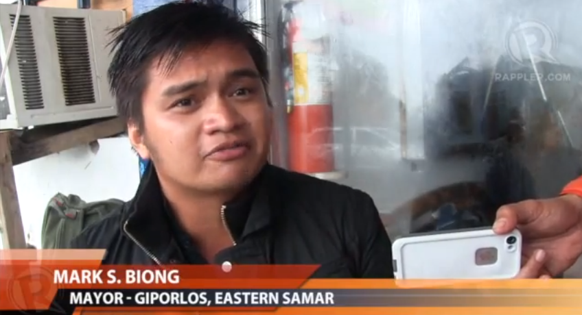 VIDEO: Mayor of Giporlos Provides First Solid Reports on Status of Coastal Towns of Eastern Samar