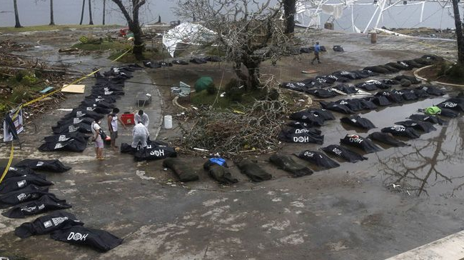 UN: Confirmed Death Toll from Typhoon Haiyan (Yolanda) now stands at 4,460