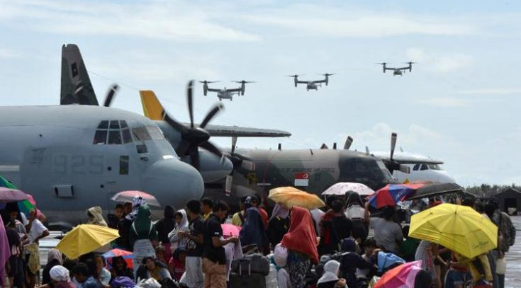 Exclusive : Pilot Provides Eyewitness Account of Samar Relief Operations Today