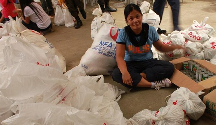 DSWD Issues Hotline for Phone Calls, Texts reporting towns and barangays not receiving relief goods