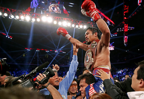 Manny Pacquiao's Dominating Victory over Brandon Rios Brings Joy to Typhoon Victims in the Phillippines