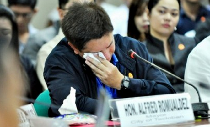 """Video: Romualdez Makes Tearful Accusations Against Roxas, PNoy — and Roxas says he's """"lying""""."""