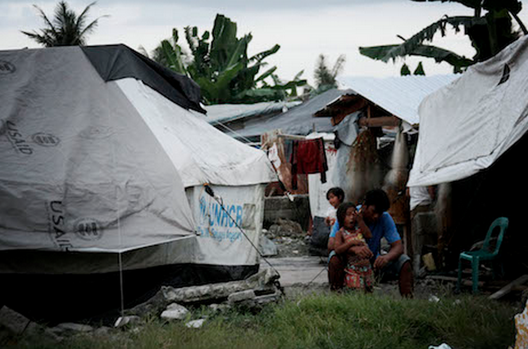 Eviction Threat Looms For Homeless Haiyan Victims