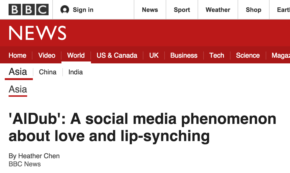 "BBC Comes Out With a Long Article About the ""AlDub Phenomenon"""
